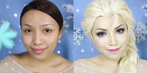 Blue, Lip, Cheek, Hairstyle, Skin, Chin, Eyelash, Forehead, Eyebrow, Photograph,