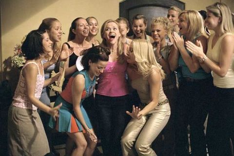 Hair, Social group, Waist, Chest, Youth, Thigh, Abdomen, Trunk, Blond, Long hair,