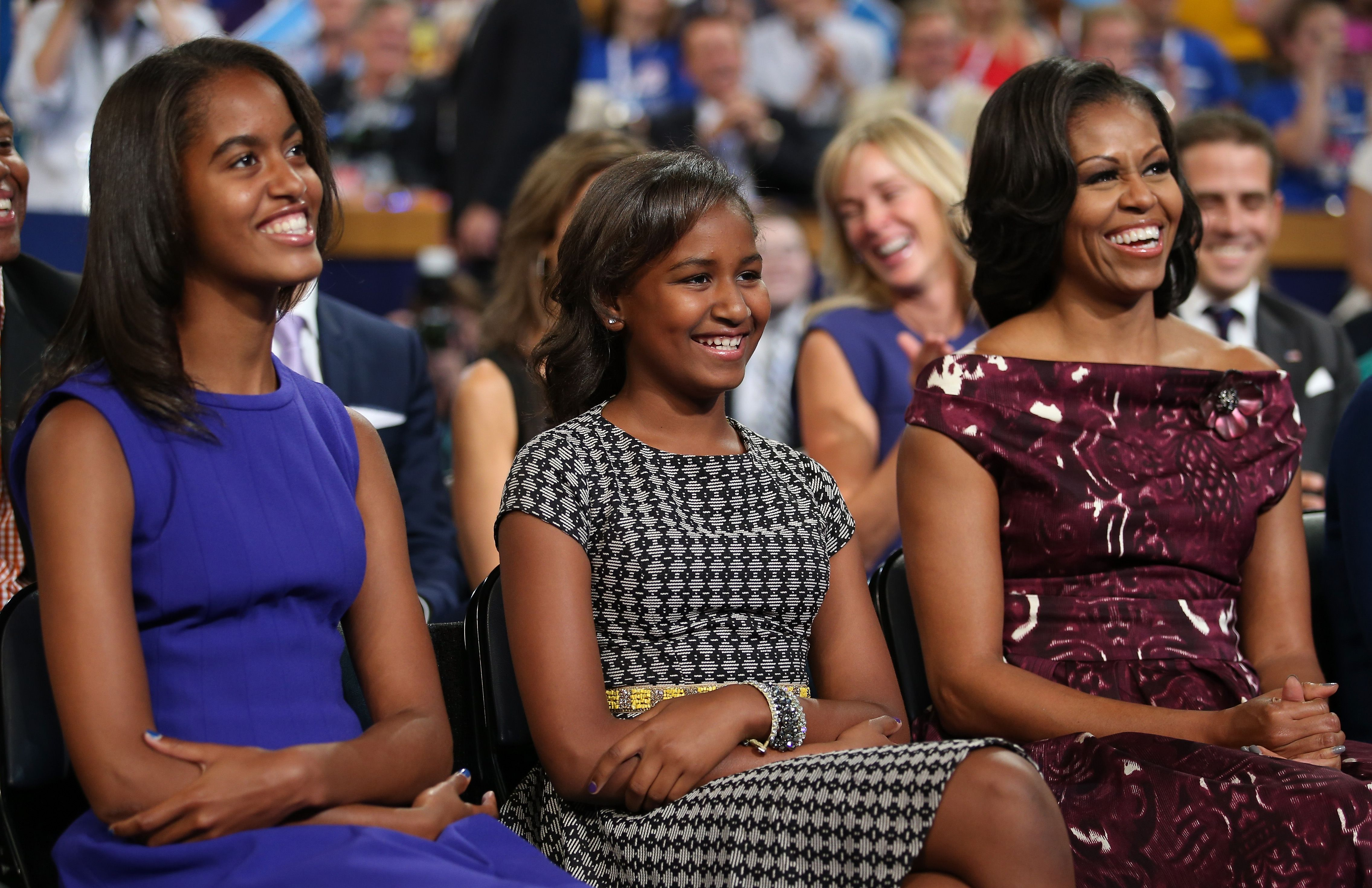 Obama girls teens