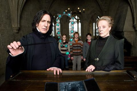 Professor Snape Just Revealed Something You Never About The Harry