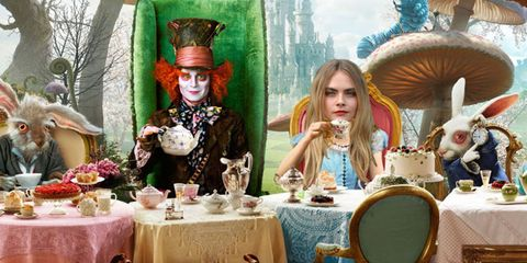 Alice in Wonderland Cara