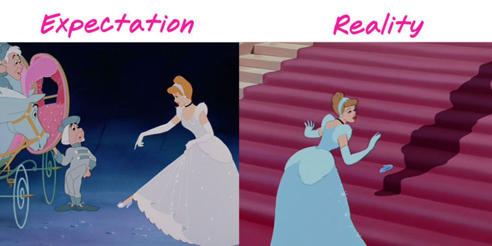 Online dating expectation vs reality princess