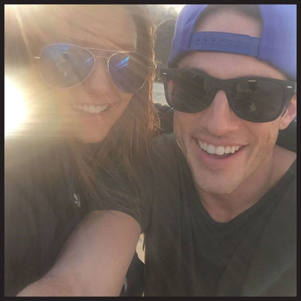 Michael trevino and nina dobrev dating who