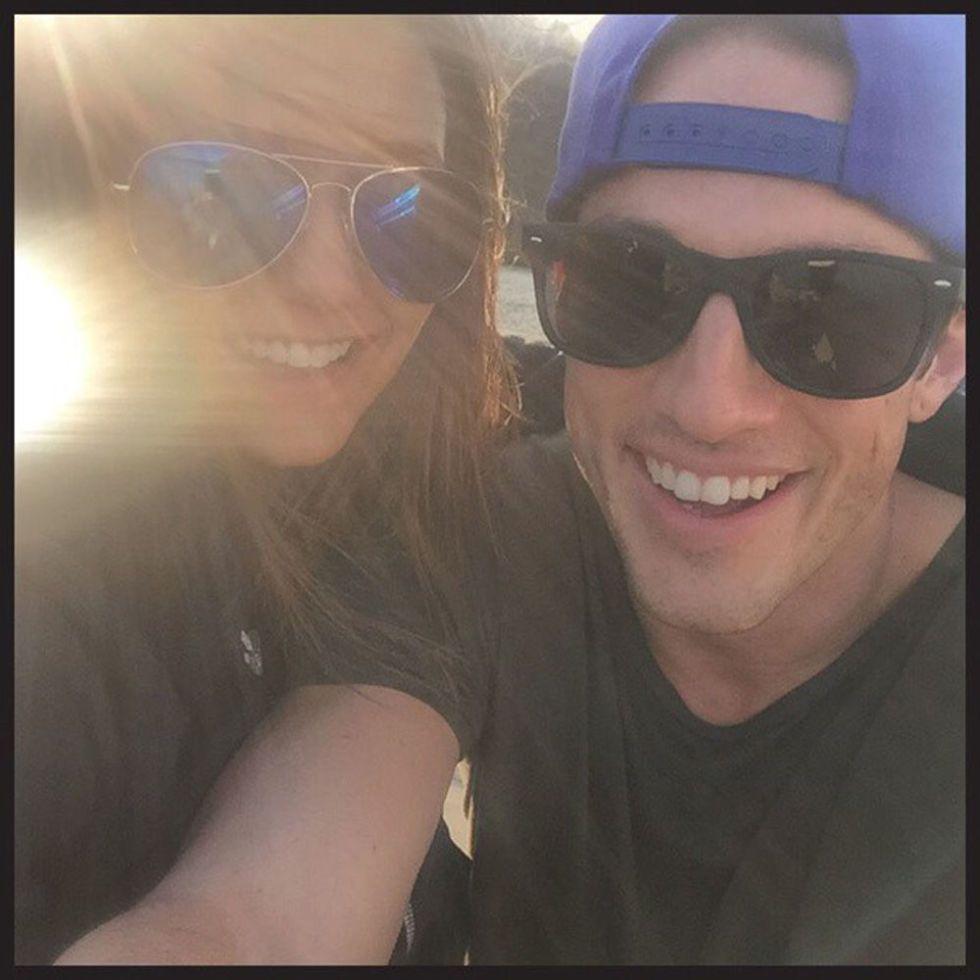 Michael trevino and nina dobrev dating who