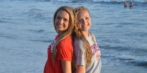 Facial expression, Fun, Vacation, Beauty, Smile, Summer, Friendship, Youth, Sea, Blond,