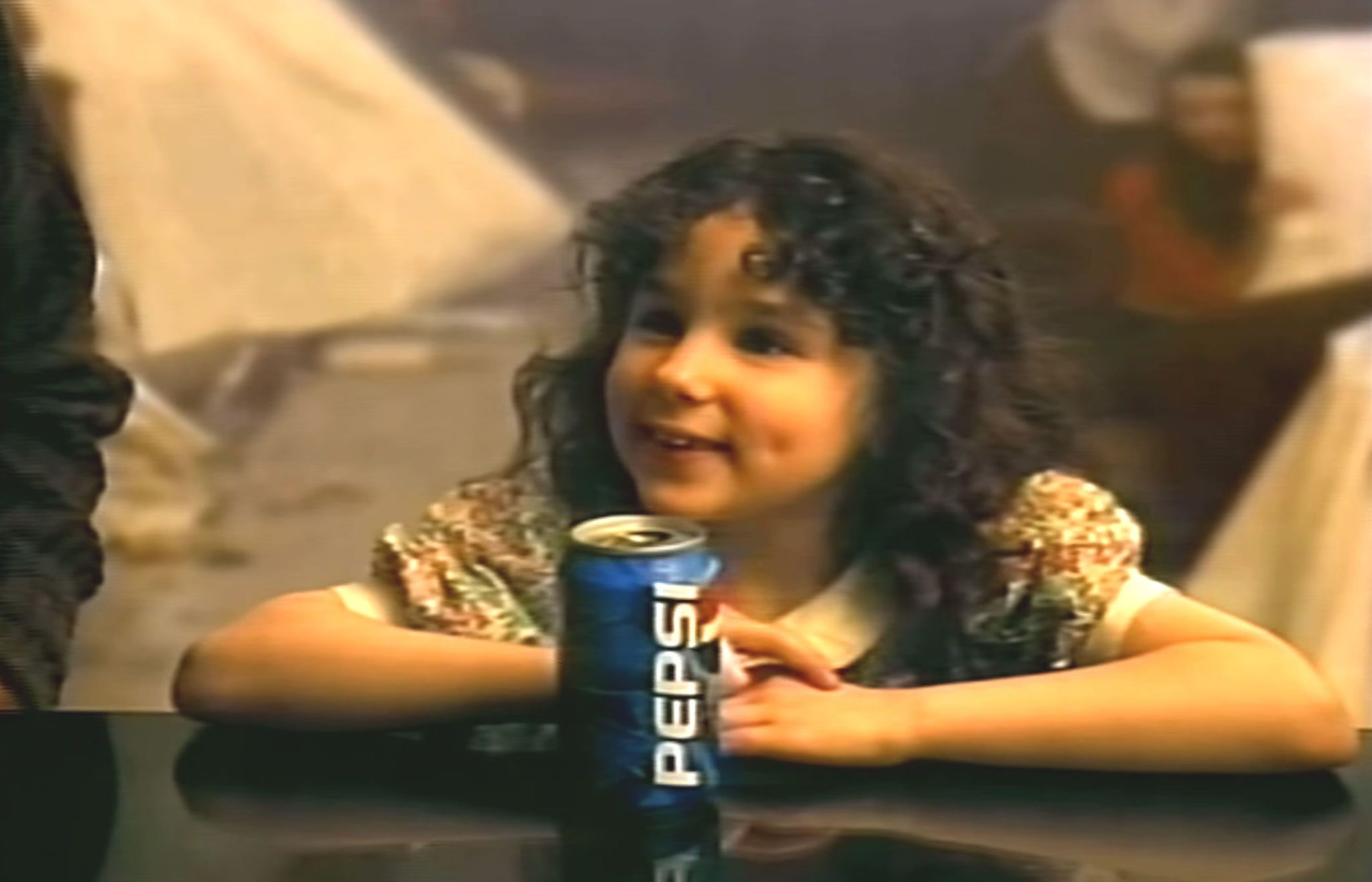 gallery 1429914762 screen shot 2015 04 24 at 51438 pm?resize=768 * you'll never believe what the little girl from the '90s pepsi
