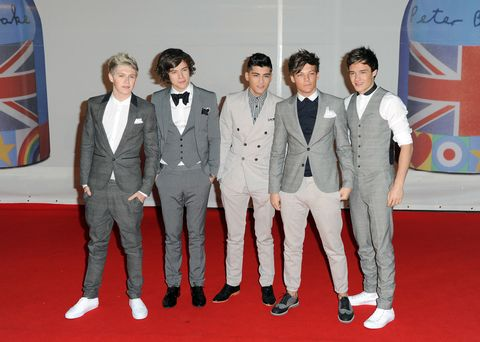 One Direction In Suits