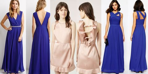 Clothing, Blue, Dress, Sleeve, Shoulder, Textile, Formal wear, One-piece garment, Style, Electric blue,