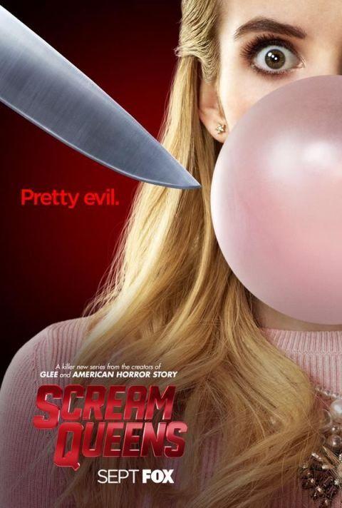 Emma Roberts Scream Queens Poster