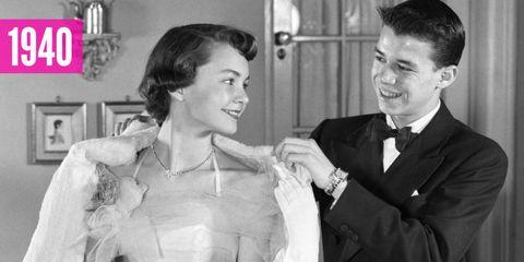vintage prom dresses 1940