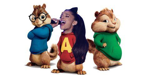 Ariana Alvin & The Chipmunks