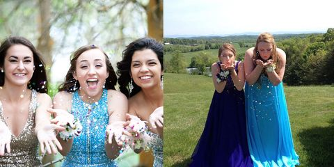 47e3a68967c 20 Best Prom Poses - Creative Ideas For Prom Pictures With Your Besties