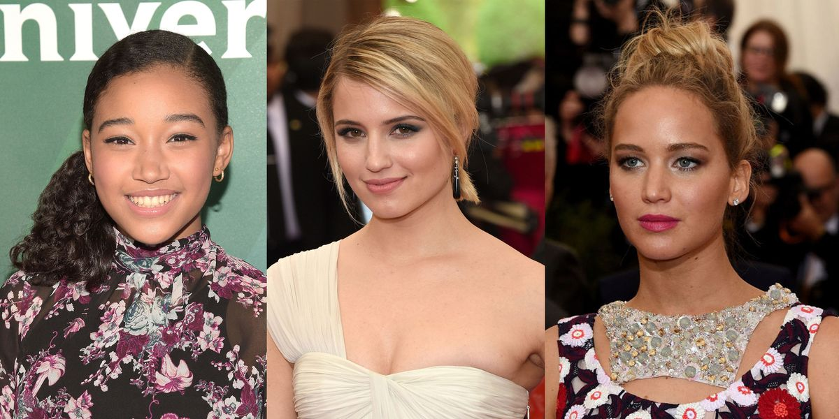 25 Prettiest Celeb Hairstyles To Steal For Prom