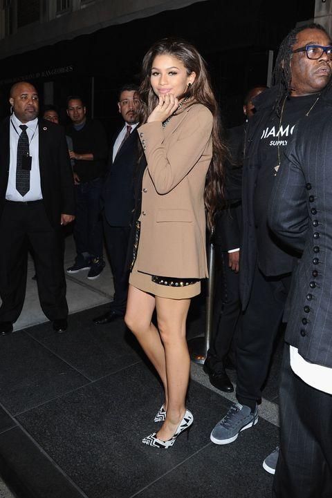Clothing, Footwear, Leg, Coat, Trousers, Shirt, Shoe, Outerwear, Suit, Formal wear,