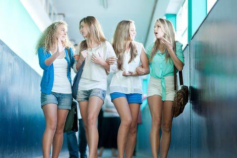 Leg, Denim, Social group, Human leg, Shorts, jean short, Thigh, Fashion, Youth, Friendship,