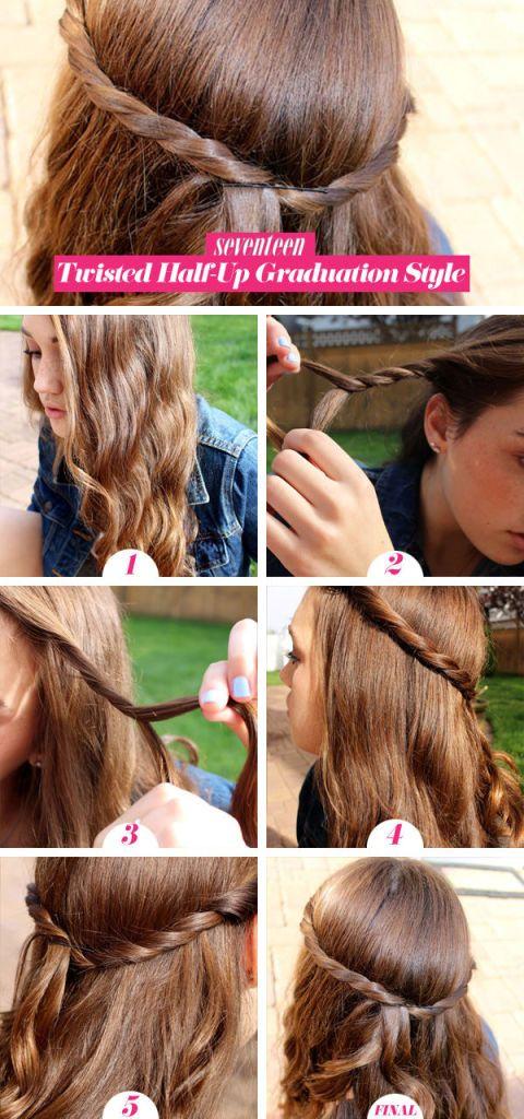 Graduation Hairstyle Tutorial