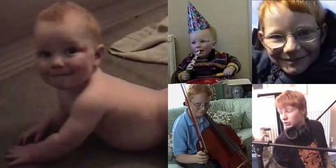 Ed Sheeran Growing Up