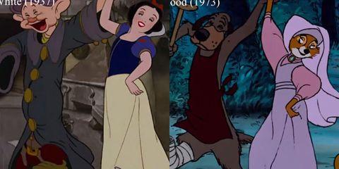 Disney Movies Same