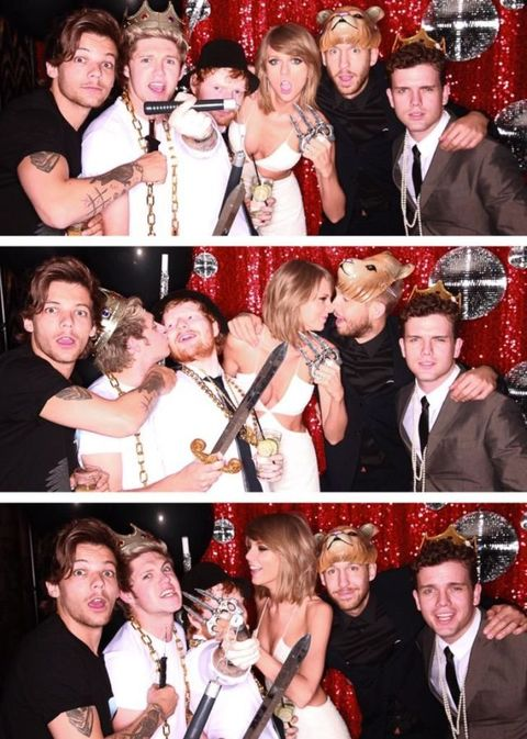 Taylor Swift One Direction Party