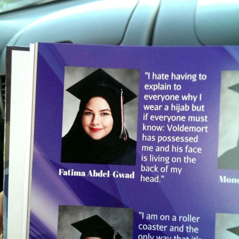 "Senior Quotes Tumblr: This Girl's ""Harry Potter"" Yearbook Quote Just Won Senior Year"