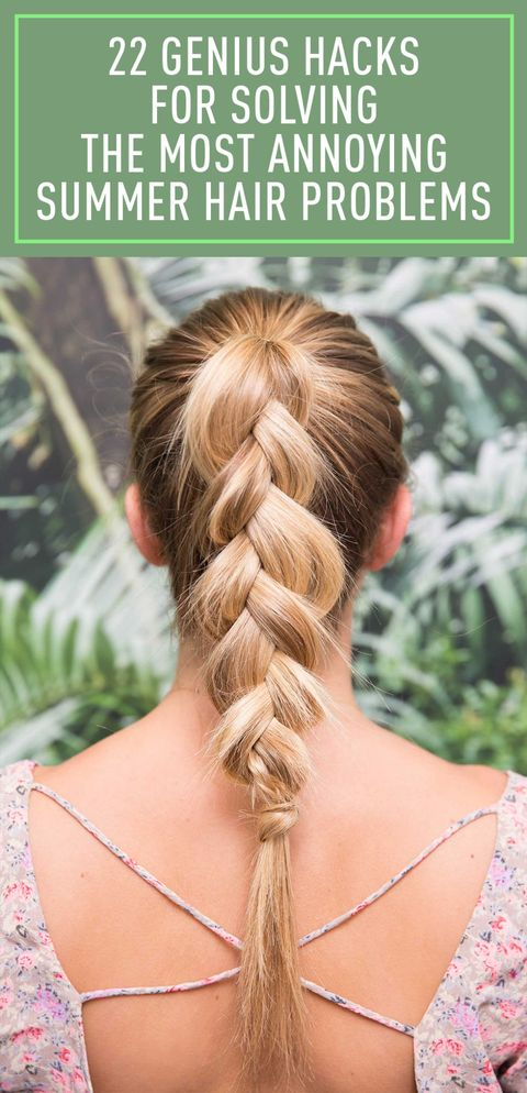 22 Genius Hacks for Solving the Most Annoying Summer Hair Problems