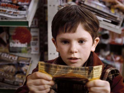 Freddie Highmore Charlie Chocolate Factory