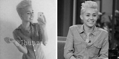 JBunzie Miley Cyrus Impersonator