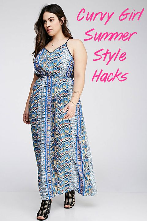 c8a1da892d67 9 Curvy Girl Fashion Hacks to Get You Through Summer