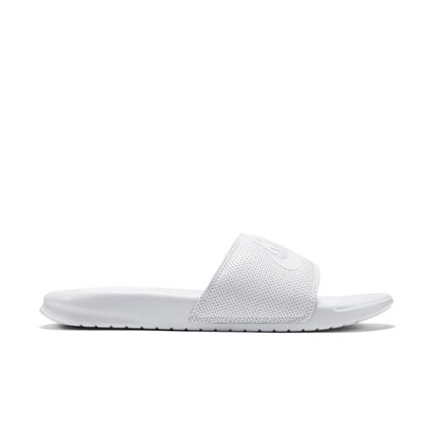 "Nike Benassi Just Do It, $40; <a href=""http://store.nike.com/us/en_us/pd/benassi-just-do-it-slide/pid-10293367/pgid-10937475"">nike.com</a>"