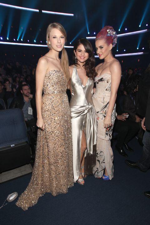 Taylor Swift Katy Perry Selena Gomez