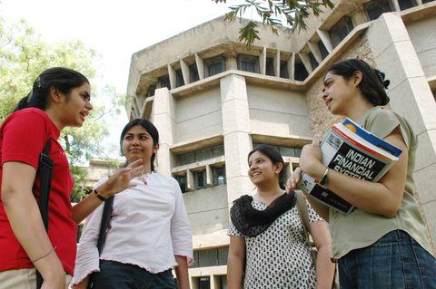 University of Delhi students
