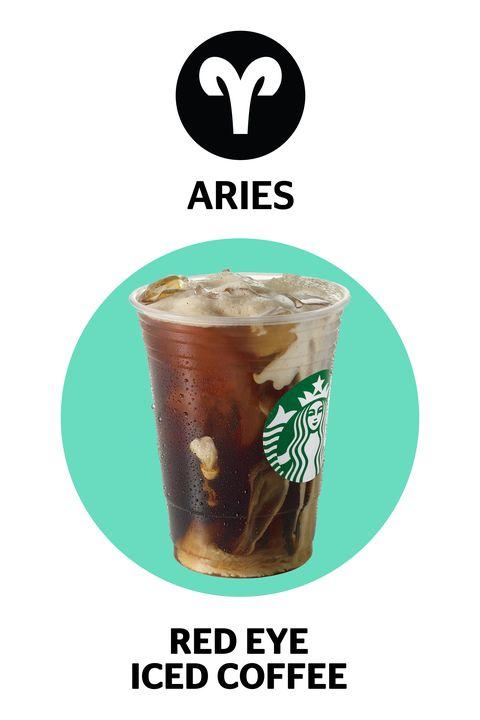red eye coffee, starbucks zodiac drinks