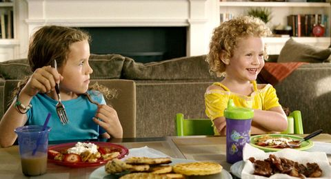 Nose, Food, Cuisine, Finger food, Meal, Tableware, Dish, Plate, Living room, Child,