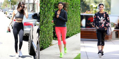 What To Wear to the Gym - Stylish Celebrity Workout Clothes 249e7b773