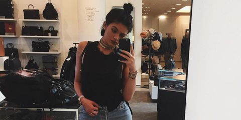 Kylie Jenner top Knot