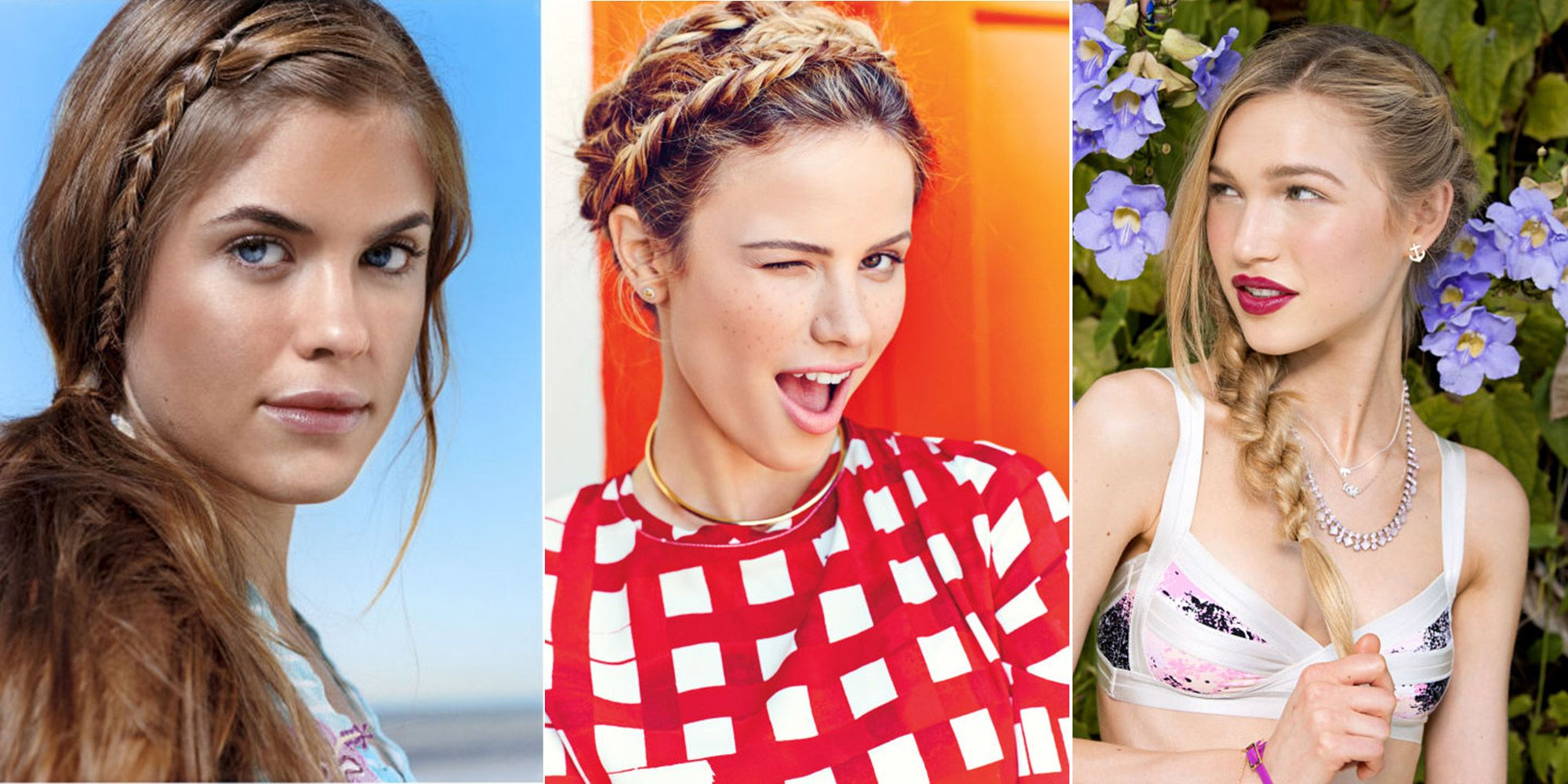 33 braid hairstyle ideas for summer - best braided hairstyles of 2017