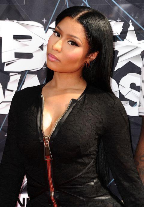 Eyelash, Jewellery, Black hair, Black, Long hair, Step cutting, Body jewelry, Makeover, Model, Leather,