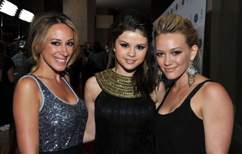 Selena Gomez Hilary Duff