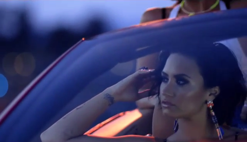 Demi Lovato is Smokin' HOT in New Sneak Peek of Her