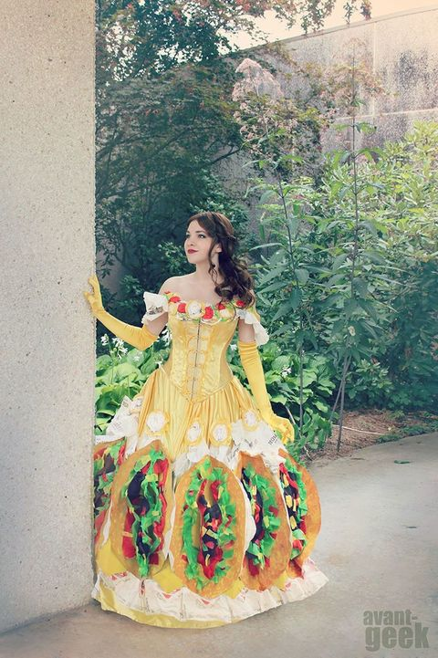 Dress, Gown, Costume design, Art, Day dress, Victorian fashion, One-piece garment, Embellishment, Costume, Spring,