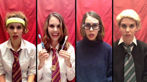 This Taylor Swift Harry Potter Mashup Is Absolutely Brilliant