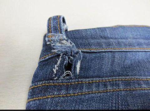 Blue, Denim, Textile, Jeans, Electric blue, Grey, Pocket, Thread, Stitch, Button,