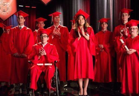 Event, Hat, Red, Academic dress, Graduation, Scholar, Headgear, Costume accessory, Chair, Mortarboard,
