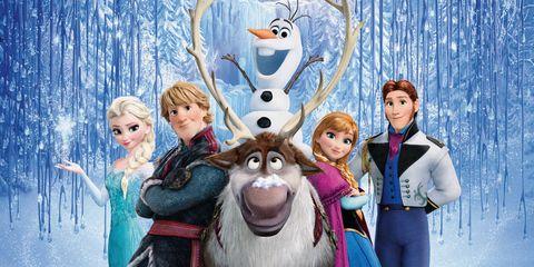 Human, Winter, Animation, Art, Fictional character, Doll, Toy, Animated cartoon, Snow, Humour,