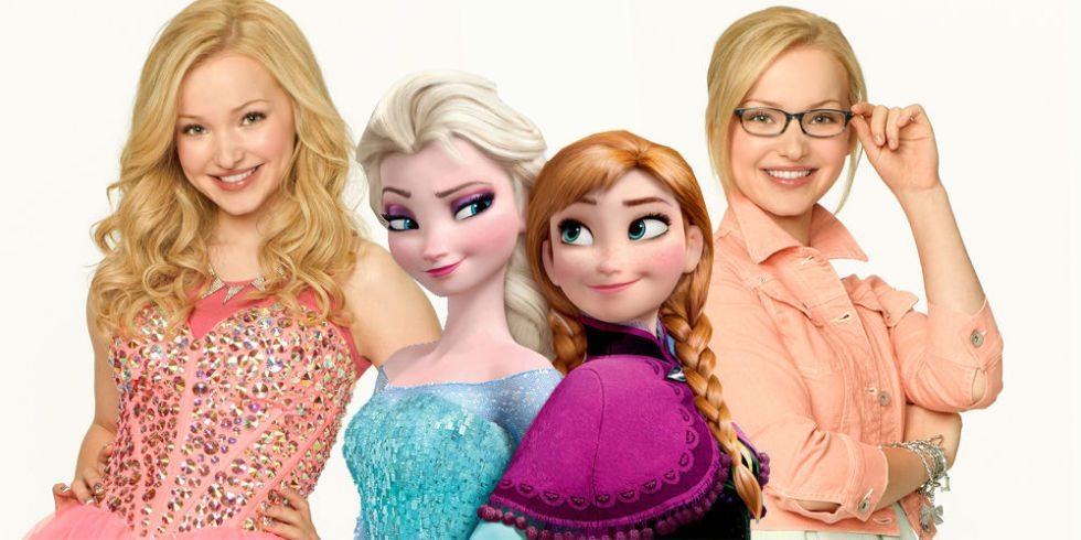 "There's Going to be a ""Frozen""/""Liv & Maddie"" Crossover Episode!"