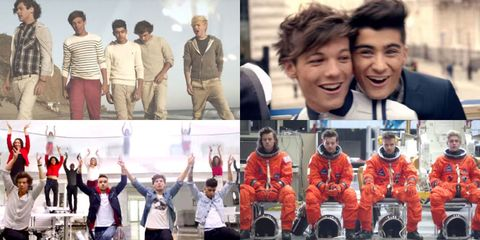 One Direction Music Videos