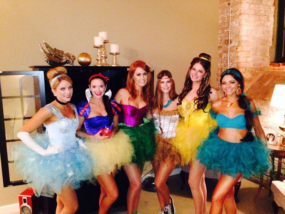13 Best Group Halloween Costumes 2018 , Funny Girl Squad