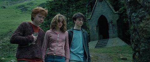 harry potter hermione granger ron weasley prisoner of  azkaban