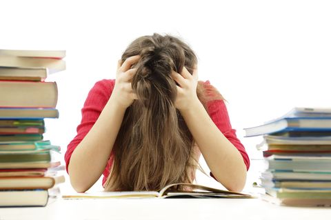 Hairstyle, Publication, Comfort, Book, Wrist, Education, Long hair, Learning, Brown hair, Reading,