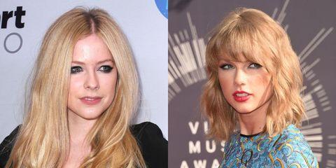 Avril lavigne slams taylor swift meet and greet comparison image m4hsunfo